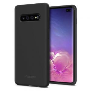 Microfiber and Silicone Matte Case for Samsung Galaxy 10 Plus MS00003