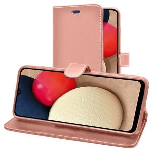 Samsung Galaxy A03s Smart Wallet Book Case - Pink MS000771