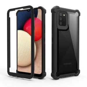 Tough-JAK Defiant 360 Shield Samsung Galaxy A03s Case - Black MS000895
