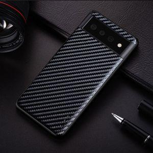 Aioria Google Pixel 6 Pro Carbon Fiber Case Cover - Black MS0001001