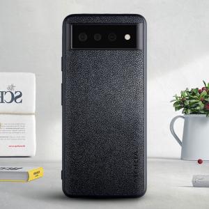 Aioria Google Pixel 6 Pro Leather case - Black MS000863