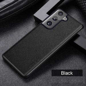 Aioria Samsung Galaxy S21 FE Leather Case Cover - Black MS000856