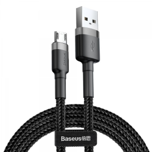 Baseus Cafule Micro USB 200CM Cable - Black MS000433