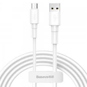 Baseus Mini Micro USB 100CM Cable - White