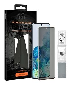 Samsung Galaxy S20 Plus Eiger Black Anti Spy Privacy Screen Protector  MS000037