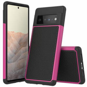 ToughJAK Pro Anti-fall Google Pixel 6 Cover Case - Pink MS000890