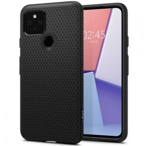 Google pixel 5 Spigen Liquid Air Case - Matte Black MS000386