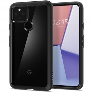 Google Pixel 5 Spigen Ultra Hybrid Cases - Matte Black  MS000414