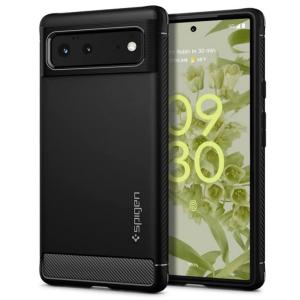 Spigen Rugged Armor Google Pixel 6 Case - Matte Black MS000997