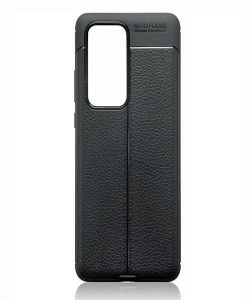 Huawei P40 Pro Leather Texture Design Gel Cover MS000067