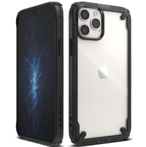 iPhone 12 - 12 Pro Ringke Fusion Case - Black MS000288