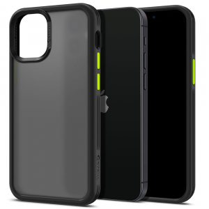 iPhone 12 - 12 Pro Spigen Cyrill Colour Brick Case - Black MS000287
