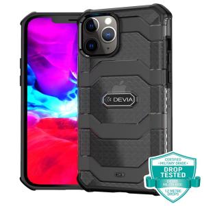 iPhone 12 Mini Devia Shockproof Guard Case - Black MS000262
