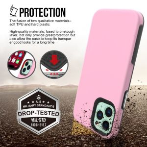 iPhone 12 Mini ProLux Tough Case - Blush Pink MS000264