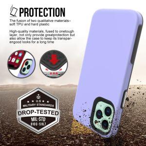 iPhone 12 Mini ProLux Tough Case - Light Lavender MS000267