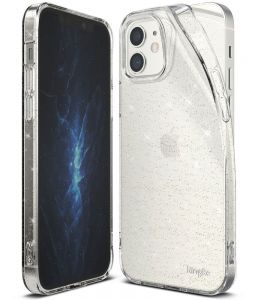 iPhone 12 Mini Ringke Glitter Case – Clear   MS000246