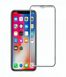 iPhone XS 5D Tempered Glass Screen Protector