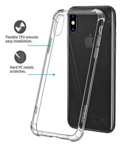 iPhone XS Anti Scratch Protective Clear Cover