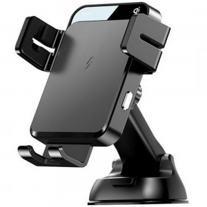 Joyroom JR-ZS219 Dashboard Car Mount Wireless Charger - Black MS000419