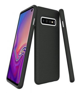 Textured Slim Fit Dual Layered Samsung Galaxy S10 Plus Case MS00006
