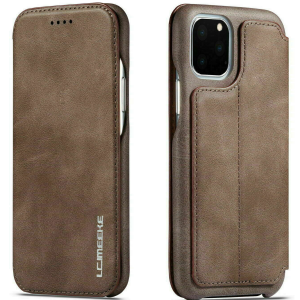 LCMeeke Luxurious Samsung Galaxy A52 - A52s Leather Style Flip Case - Mink MS000977