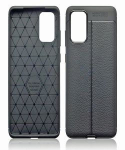 Leather Texture Gel Case for Samsung Galaxy S20 Plus MS000026