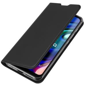 Motorola Moto G30 DuxDucis Skin Pro Wallet Case - Black MS000653