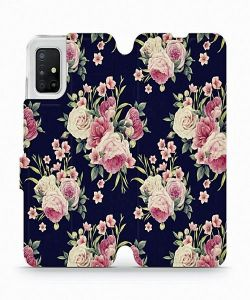 Samsung Galaxy A51 Mobiwear V068P Case Wild Roses MS000051
