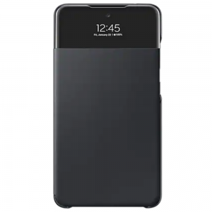 Official Samsung Galaxy A52 S View Wallet Case Cover - Black MS000608
