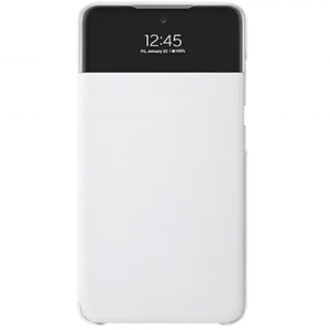 Official Samsung Galaxy A52 S View Wallet Case Cover - White MS000609