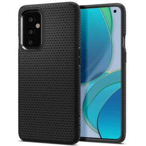 Oneplus 9 Pro Spigen Liquid Air Case Cover - Matte Black MS000620