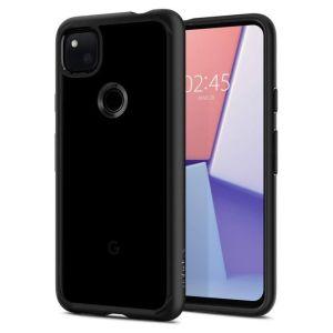 Google pixel 4a Spigen Ultra Hybrid Case Matte Black MS000156