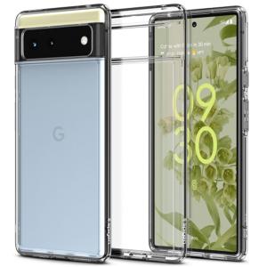Spigen Ultra Hybrid Google Pixel 6 Crystal Case - Clear MS001000