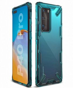 Huawei P40 Pro Ringke Fusion X Case Turquoise Green MS000061