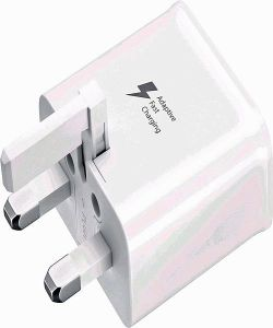 Samsung EP-TA20UBE Adaptive Fast Charger - White