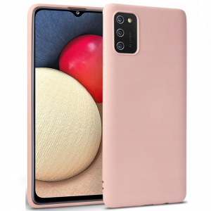 Samsung Galaxy A02s Silicone Case - Pink MS000532