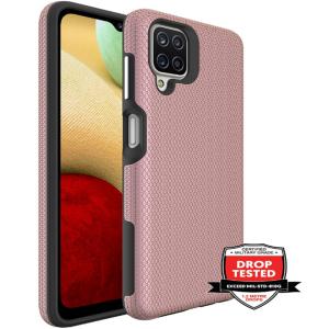 Samsung Galaxy A12 ProGrip Tough Case - Rose Gold MS000585
