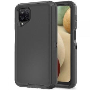 Samsung Galaxy A12 Tech-Protect Adventure Case Cover - Black MS000700