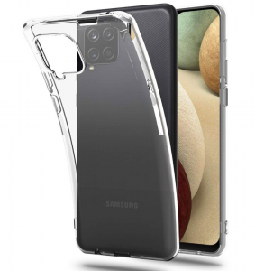 Samsung Galaxy A12 Tech-Protect Flexair Crystal Case - Clear  MS000461