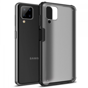 Samsung Galaxy A12 Tech-Protect Hybridshell Case - Black MS000500