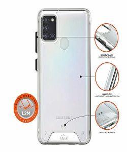 Samsung Galaxy A21s Eiger Glacier Case - Clear