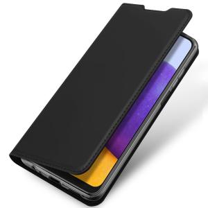 Samsung Galaxy A22 5G DuxDucis Skin Pro Wallet Case - Black MS000725