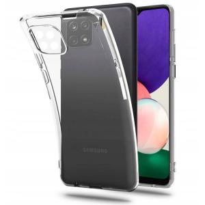 Samsung Galaxy A22 5G Flexair Crystal Case - Clear MS000742