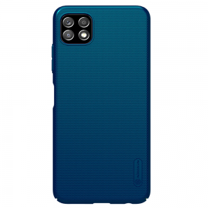 Samsung Galaxy A22 5G Nillkin Frosted Shield Cover Case - Peacock Blue MS000758
