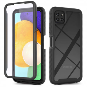 Samsung Galaxy A22 5G Tech-Protect Defence 360 Case - Black MS000739