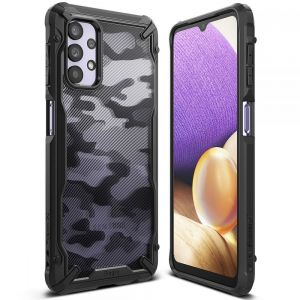 Samsung Galaxy A32 5G Ringke Fusion Camo Case - Black MS000569
