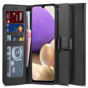 Samsung Galaxy A32 5G Tech-Protect Wallet Case - Black MS000627