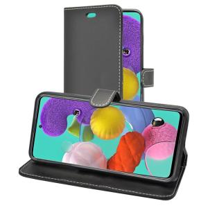 Samsung Galaxy A51 Wallet Cases - Black MS000354