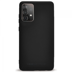 Samsung Galaxy A52 5G Case FortyFour No.1 Case Cover - Black MS000601