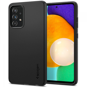 Samsung Galaxy A52 5G Spigen Thin Fit Case Cover - Black MS000607